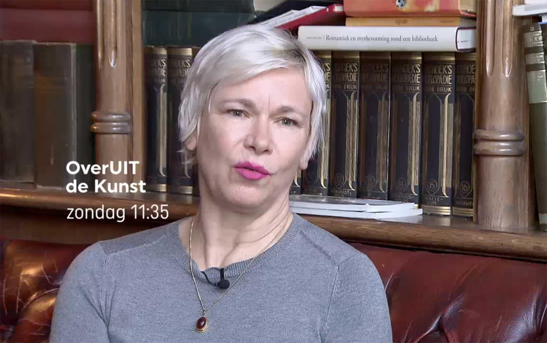 Christine Otten bij RTV Oost over We hadden liefde, we hadden wapens