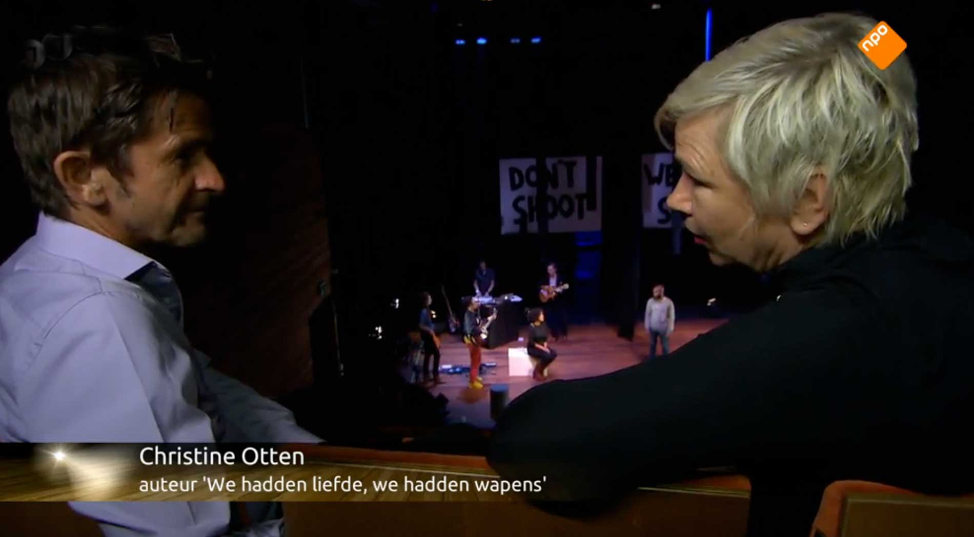 Cornald Maas over de muziek- theatervoorstelling 'WHLWHW'